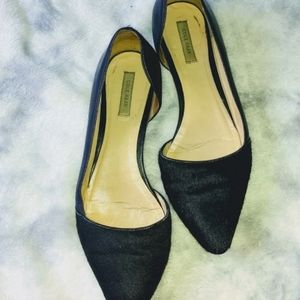 Black Cole Haan Pointed Toe Flats 7.5